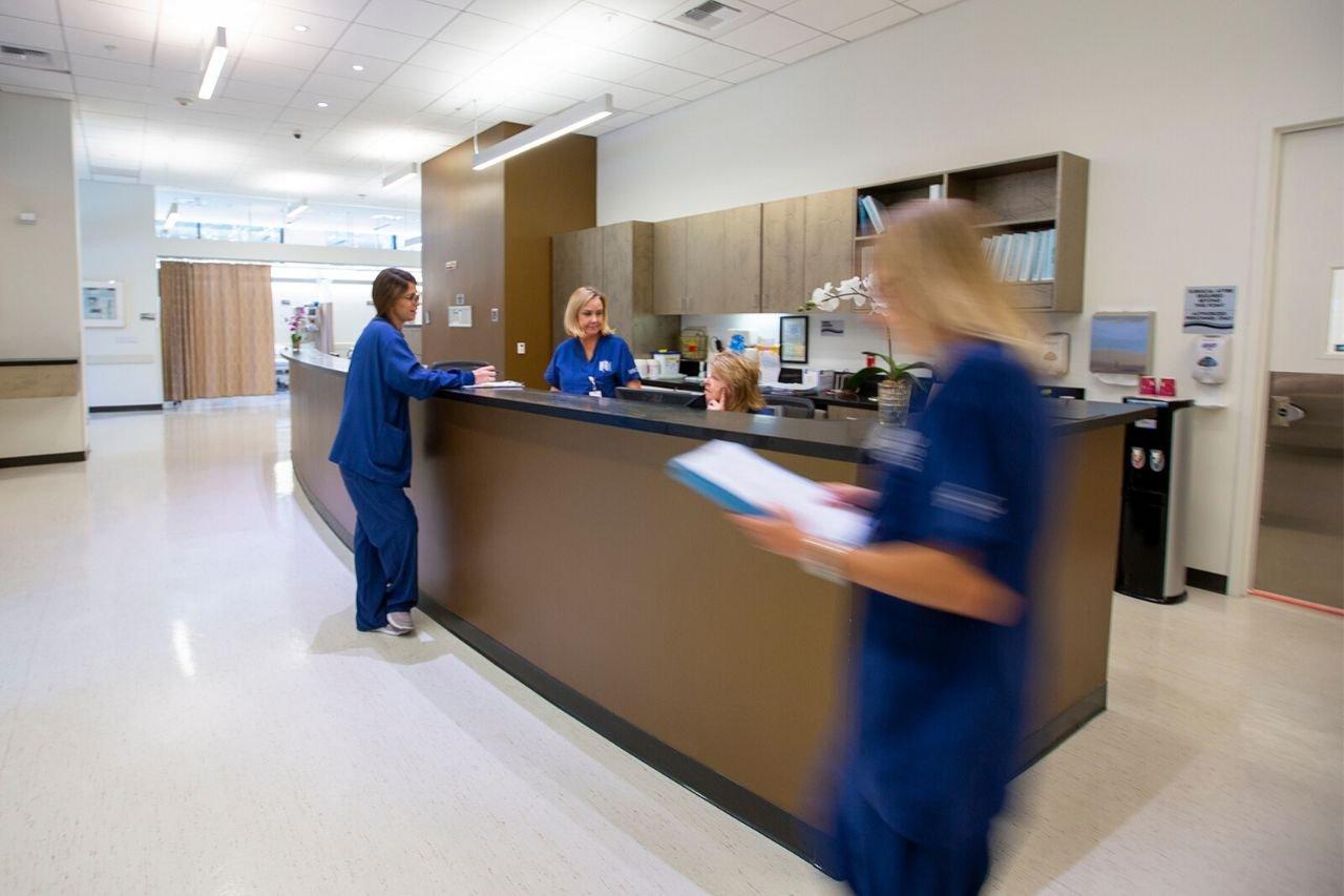 DISC Surgery Center Nurses Station