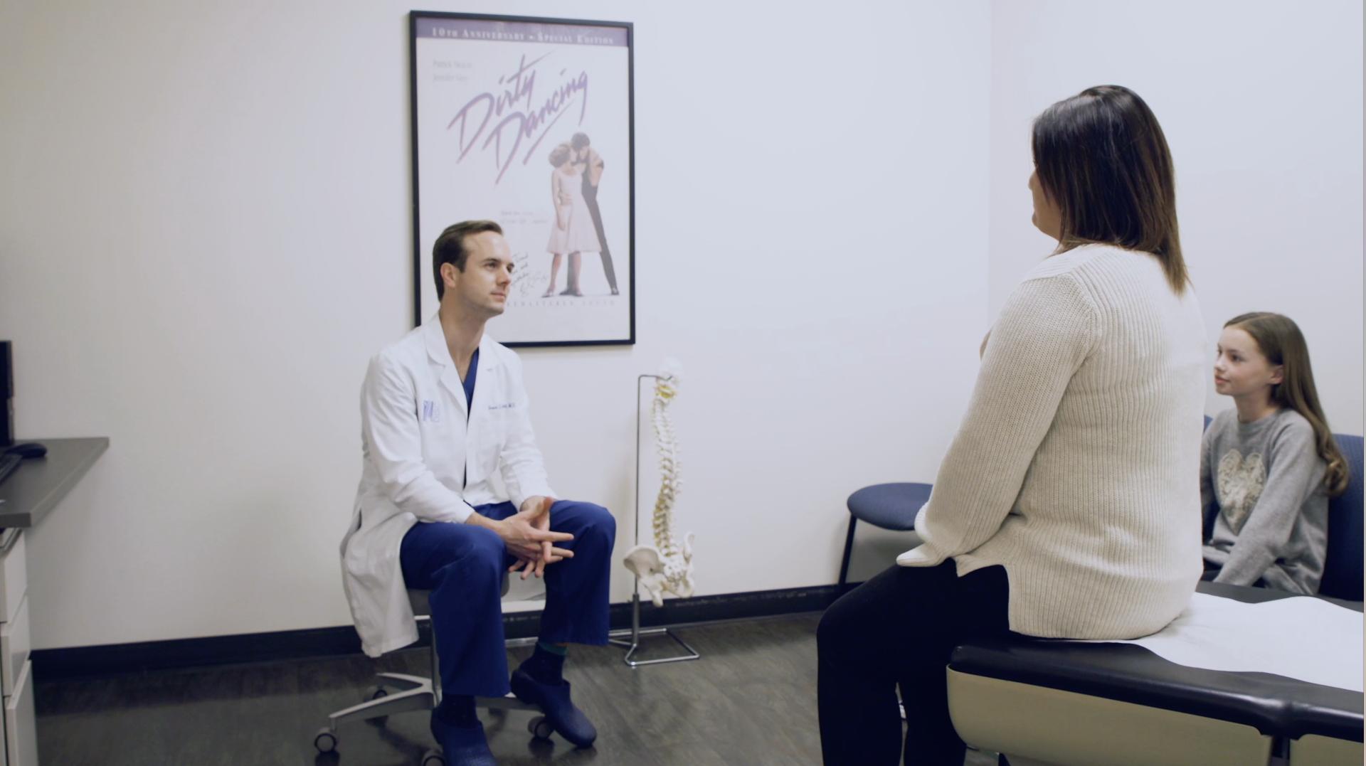 grant in clinic